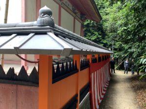 雙栗神社本殿玉垣