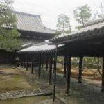 大徳寺寝堂渡り廊下